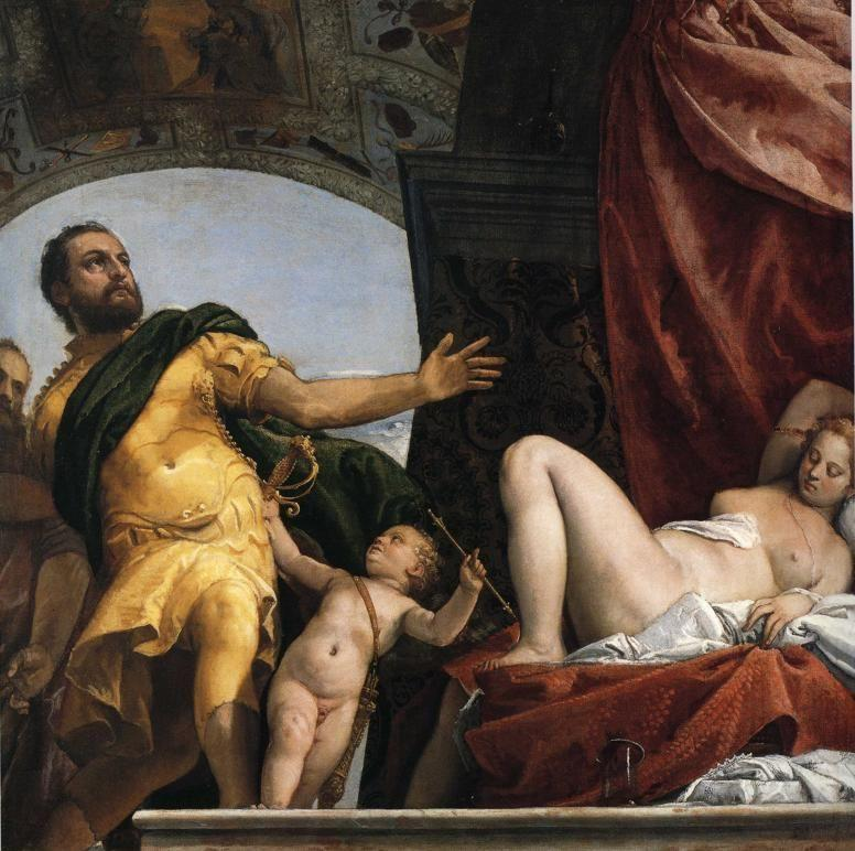 Paolo Veronese. Allegory of Love III Respect.