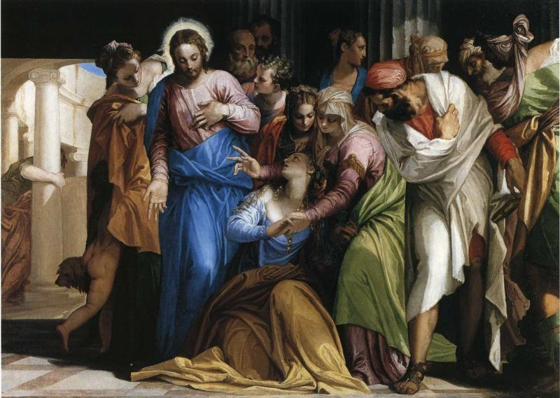 Paolo Veronese. Magdalene's Conversion.