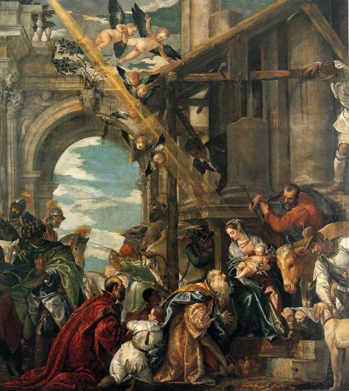 Paolo Veronese. The Adoration of the Kings.