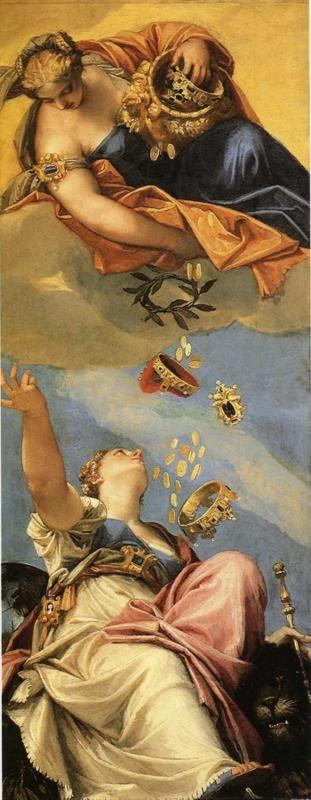 Paolo Veronese. Juno Bestowing Her Gifts on Venice.