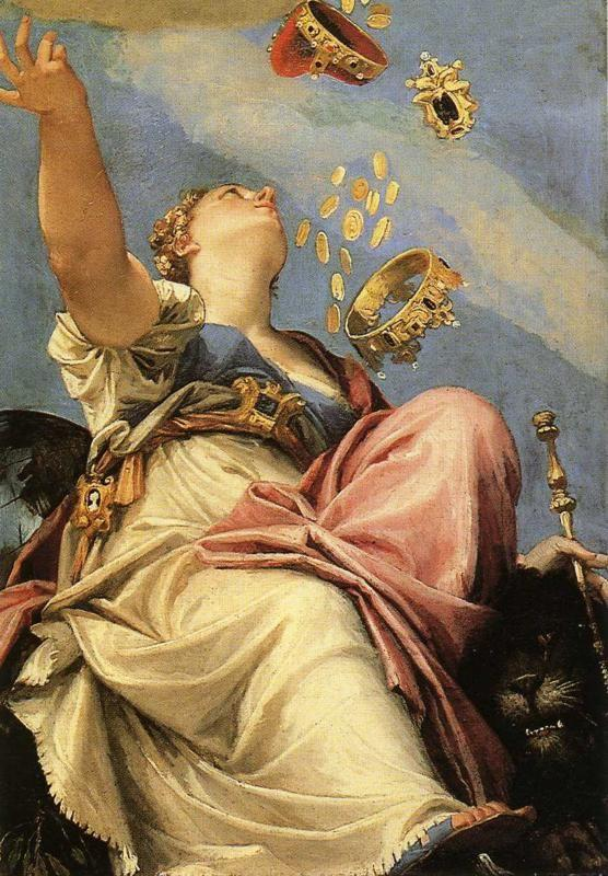 Paolo Veronese. Juno Bestowing Her Gifts on Venice. Detail.