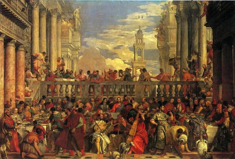Paolo Veronese. The Marriage Feast at Cana.