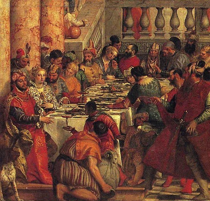 Paolo Veronese. The Marriage Feast at Cana. Detail.