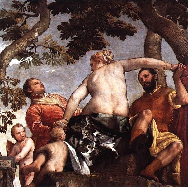 Paolo Veronese. Allegory of Love I Infidelity.