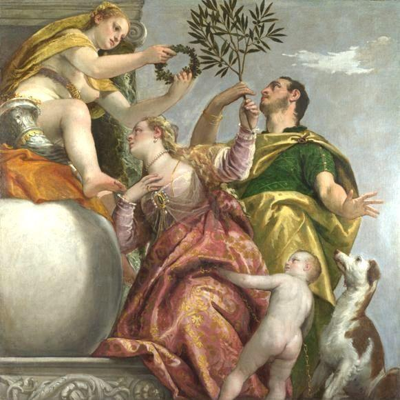 Paolo Veronese. Allegory of Love IV The Happy Union.