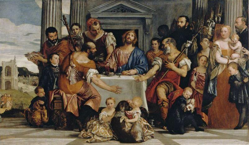 Paolo Veronese. Supper at Emmaus.
