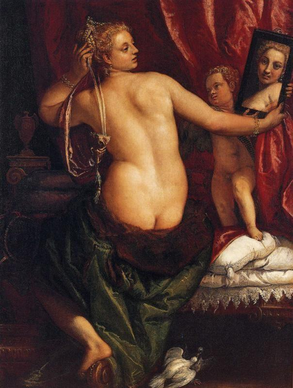 Paolo Veronese. Venus with a Mirror (Venus at Her Toilette).