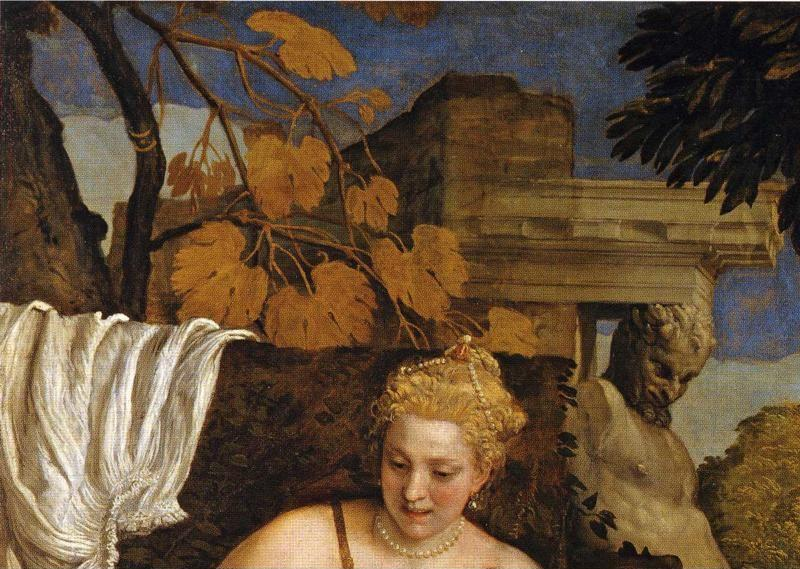 Paolo Veronese. Mars and Venus United by Love. Detail.