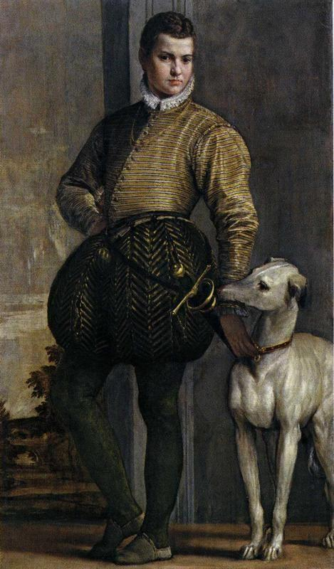Paolo Veronese. Boy with a Greyhound.