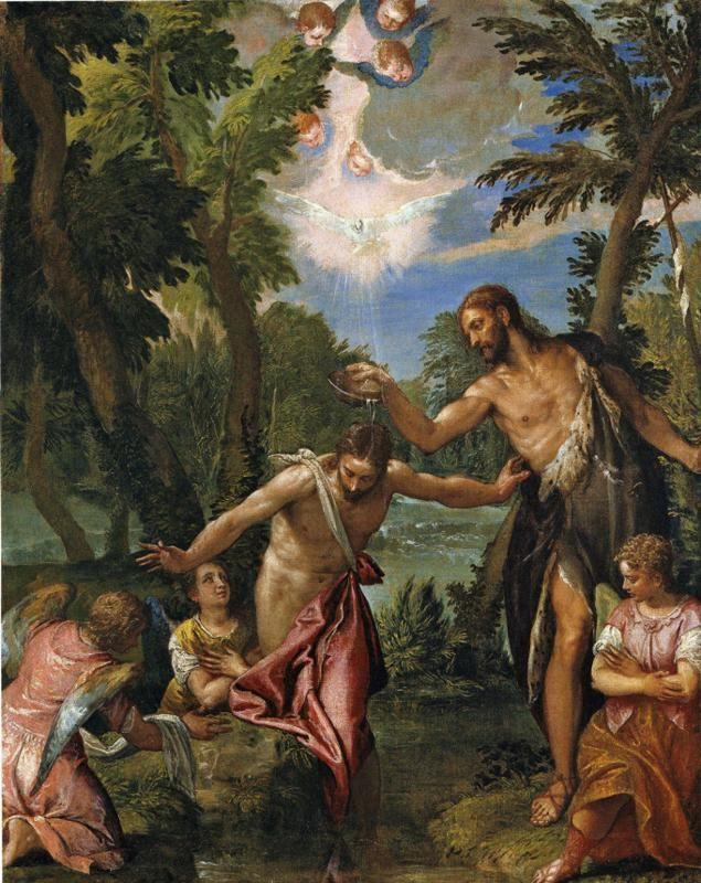 Paolo Veronese. Baptism of Christ.