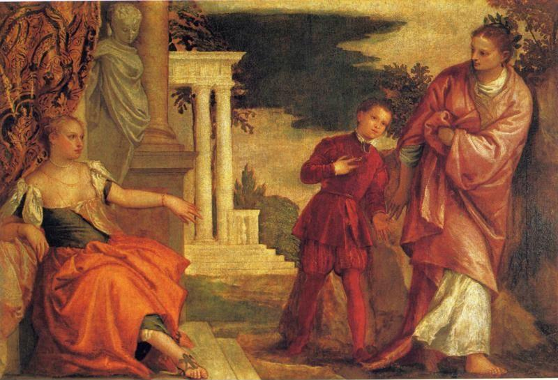 Paolo Veronese. Youth Between Virture and Vice.