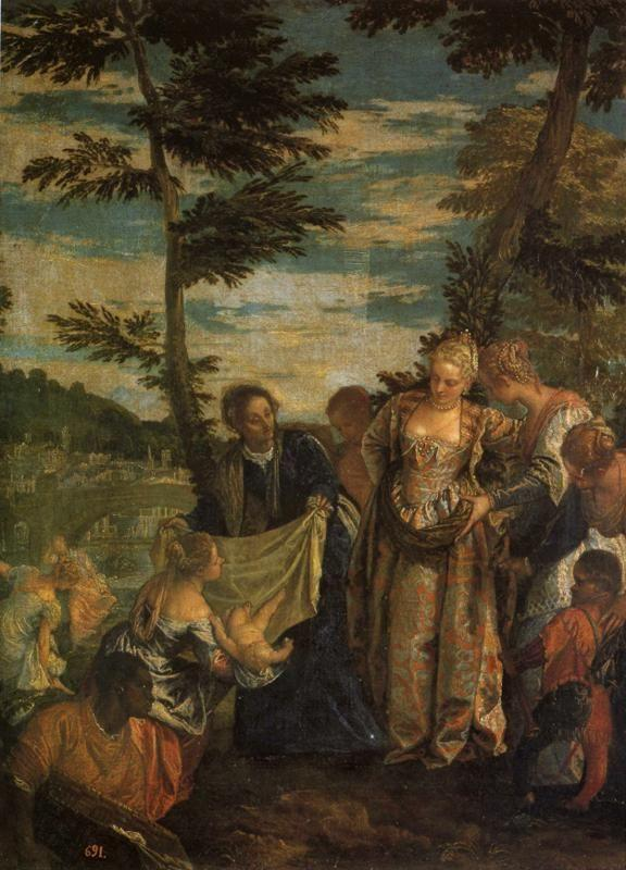 Paolo Veronese. Moses Saved from the Waters of the Nile.