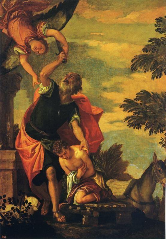 Paolo Veronese. The Sacrifice of Abraham.