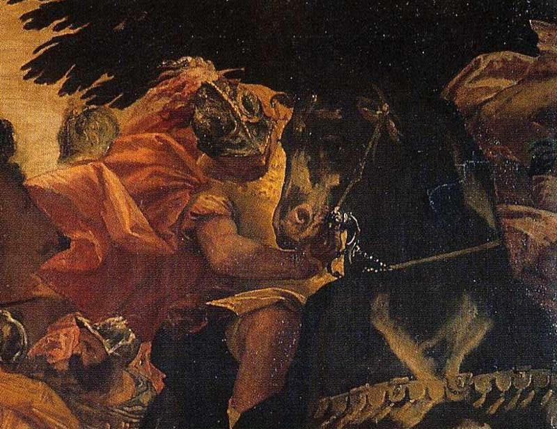 Paolo Veronese. The Conversion of Saul. Detail.