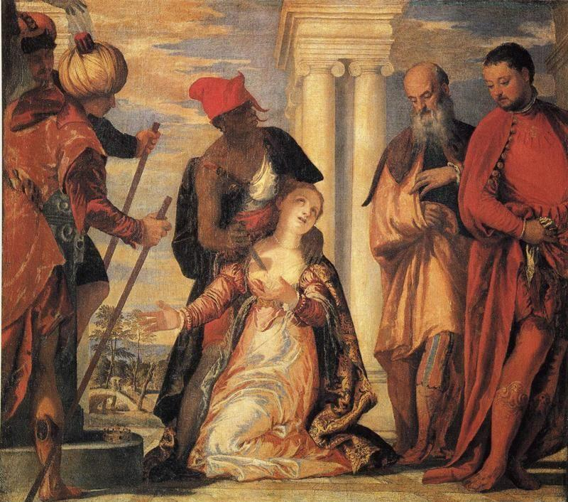 Paolo Veronese. The Martyrdom of St. Justina.
