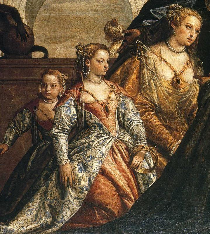 Paolo Veronese. The Family of Darius Before Alexander the Great. Detail.