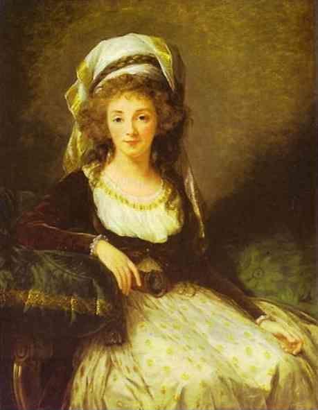Louise-Elisabeth Vigée-Lebrun. Portrait of a Lady.