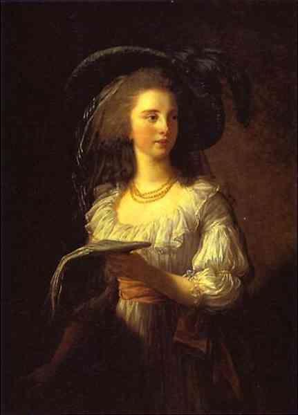 Louise-Elisabeth Vigée-Lebrun. The Duchess de Polignac.