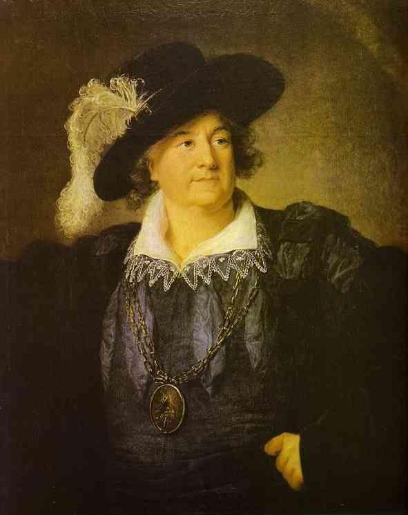 Louise-Elisabeth Vigée-Lebrun. Portrait of Stanislas Augustus Poniatowski.