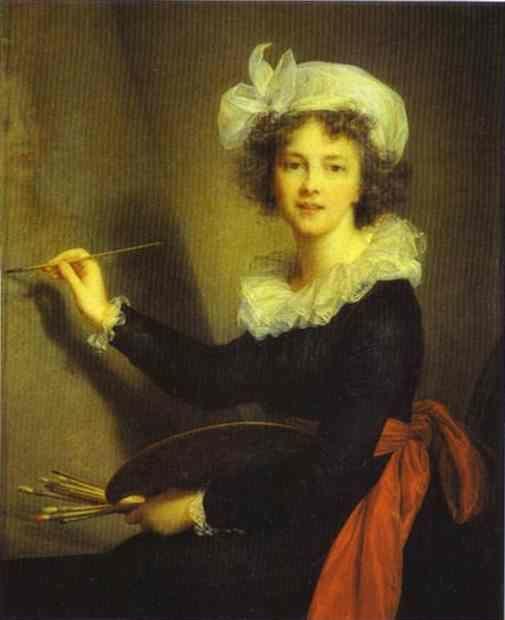 Louise-Elisabeth Vigée-Lebrun. Self-Portrait.