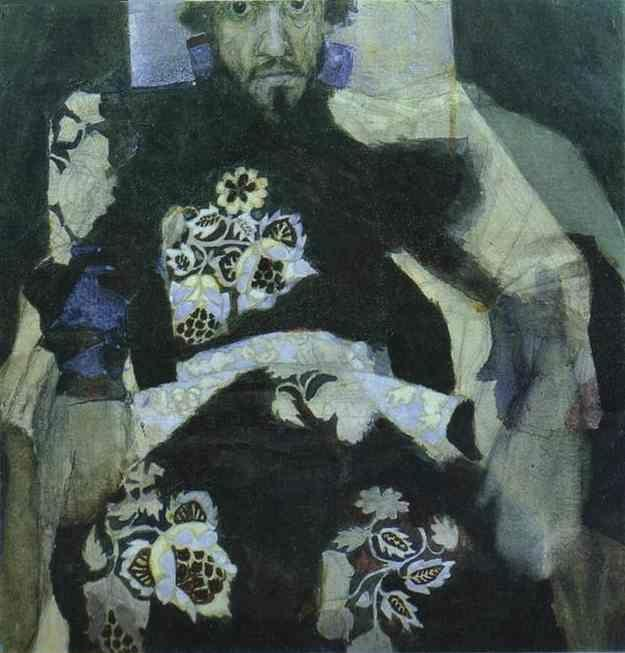 Mikhail Vrubel. A Man in a Russian Old-Style Costume.