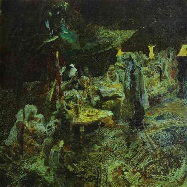 Mikhail Vrubel. The Oriental Tale.