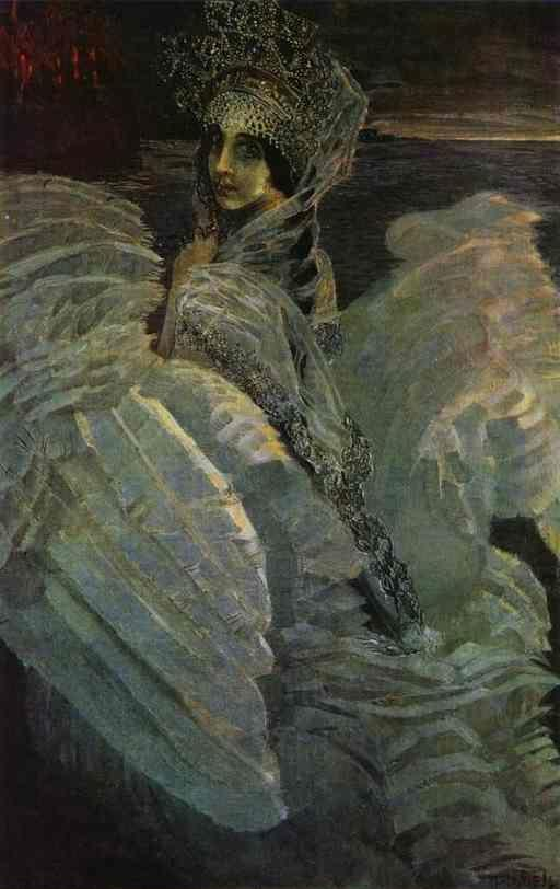 Mikhail Vrubel Swan Princess