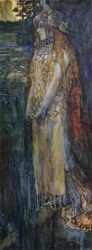 Mikhail Vrubel. Nadezhda Zabela-Vrubel as Princess Volkhova.