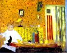 Edouard Vuillard. After the Meal.