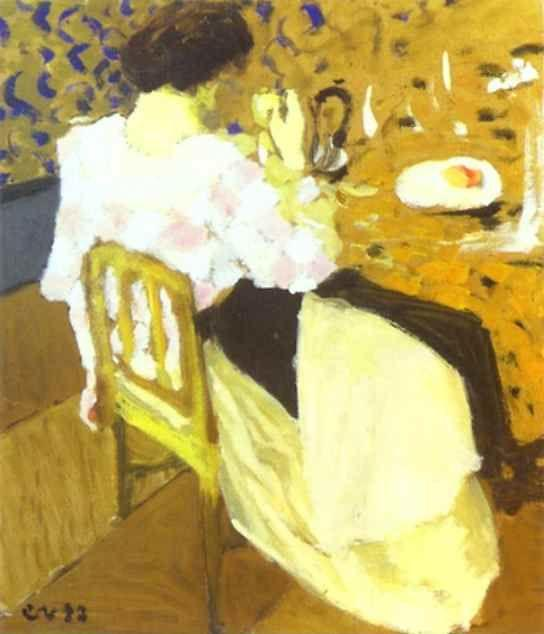 Edouard Vuillard. The Breakfast/Le Breakfast.