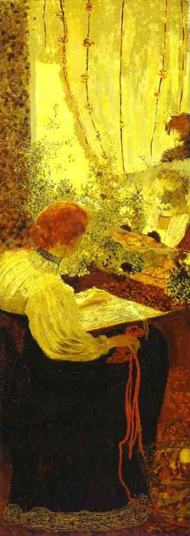 Edouard Vuillard. Tapestry or Embroiderers/La Tapisserie ou Les Brodeuses.