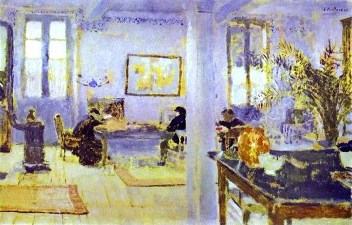 Edouard Vuillard. The Room.