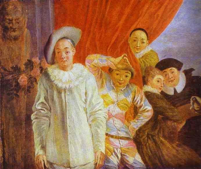 Arlequins... Watteau63