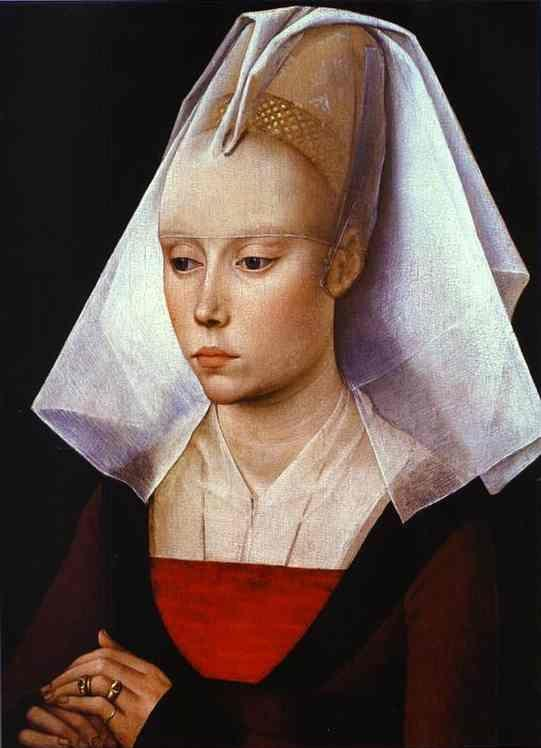 Rogier van der Weyden. Portrait of a Lady.