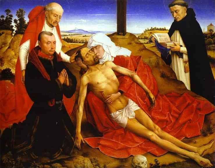 Rogier van der Weyden. Lamentation of Christ.