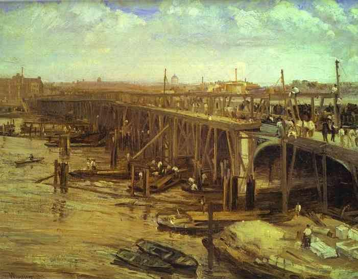 James Abbott McNeill Whistler. The Last of Old Westminster.