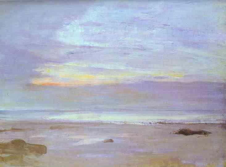 James Abbott McNeill Whistler. Crepuscule in Opal: Trouville.