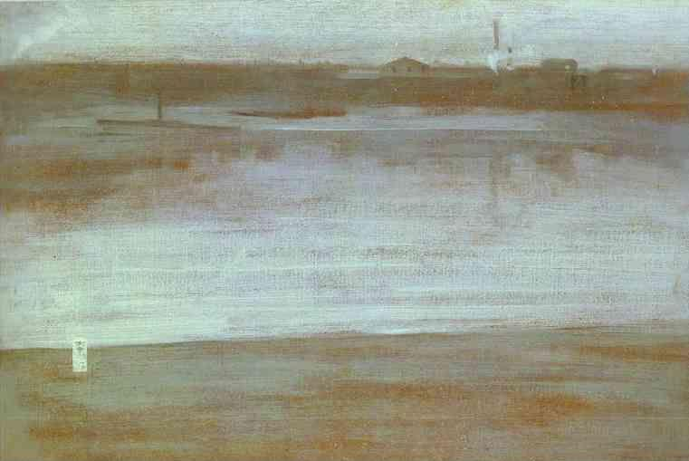 James Abbott McNeill Whistler. Symphony in Gray: Early Morning Thames.
