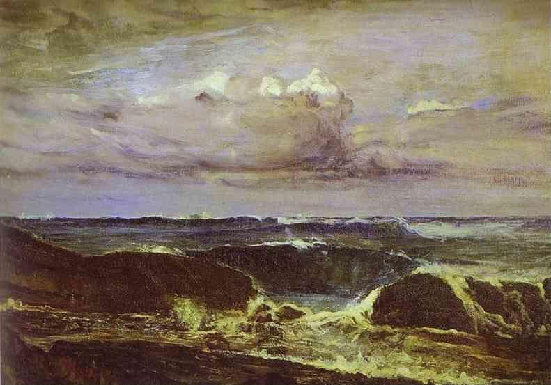 James Abbott McNeill Whistler. Blue and Silver: The Blue Wave, Biarritz.