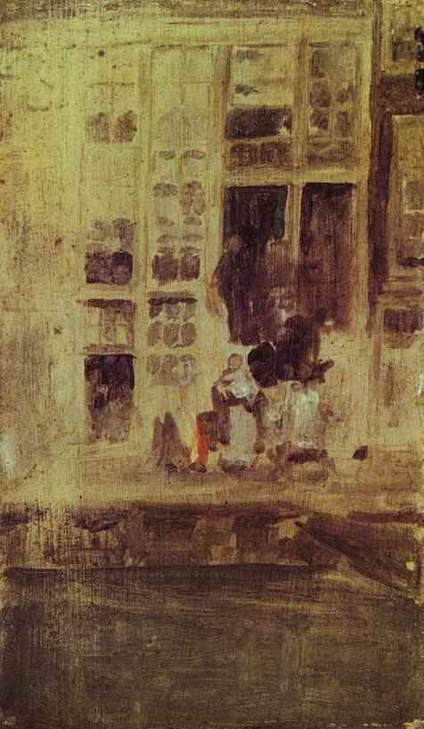 James Abbott McNeill Whistler. The Grey House.