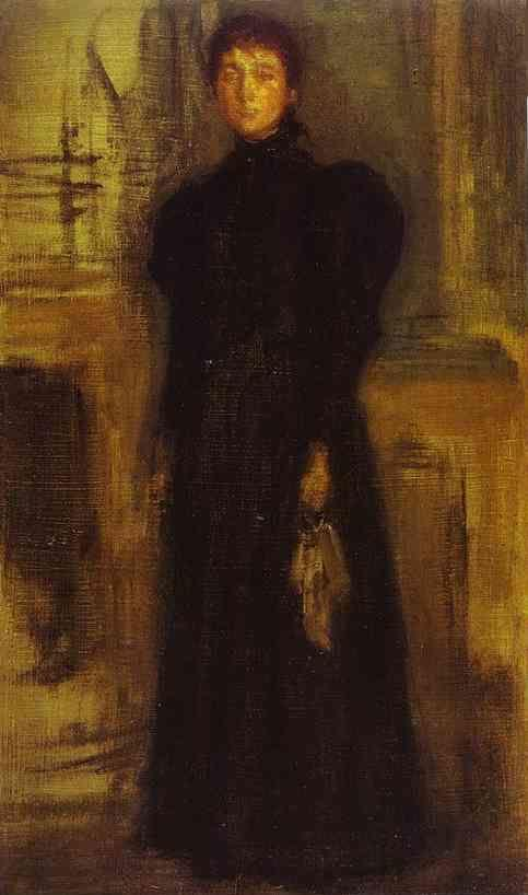 James Abbott McNeill Whistler. Miss Rosalind Birnie Philip Standing.