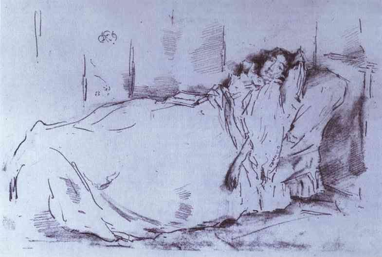 James Abbott McNeill Whistler. The Siesta.