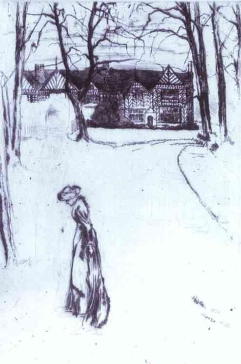 James Abbott McNeill Whistler. Speke Hall.