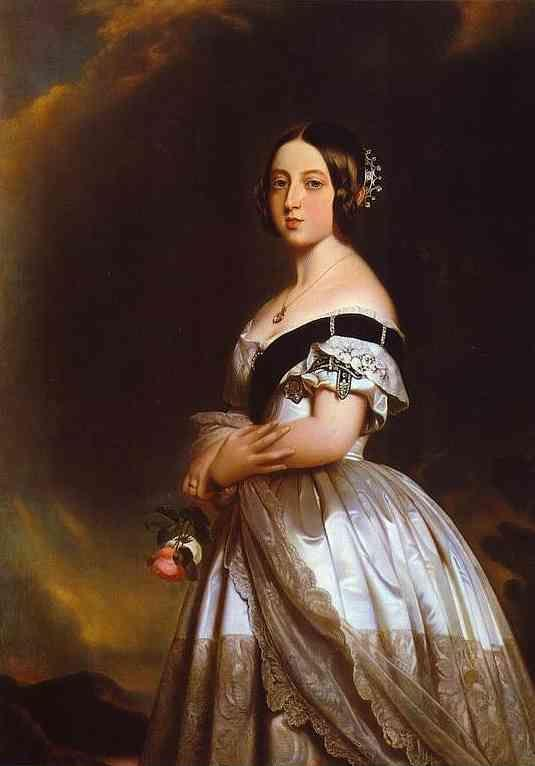 Studio of Winterhalter. Queen Victoria.