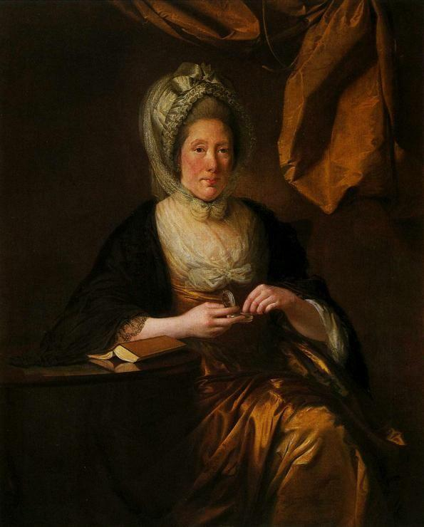 Joseph Wright of Derby. Mrs Francis Hurt.
