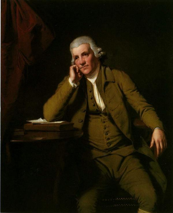 Joseph Wright of Derby. Jedediah Strutt.