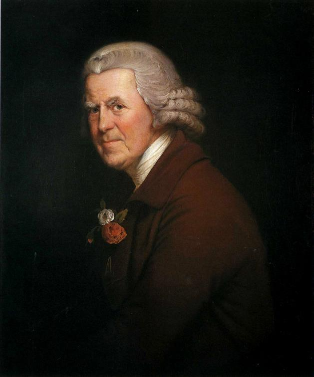 Joseph Wright of Derby. Old John, Head Waiter at the King's Head in Derby.