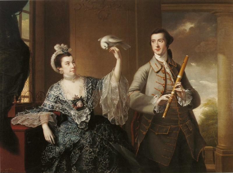 Joseph Wright of Derby. Mr and Mrs William Chase.