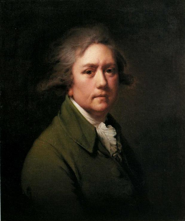 Joseph Wright of Derby. Self-Portrait at the Age of about Fifty.