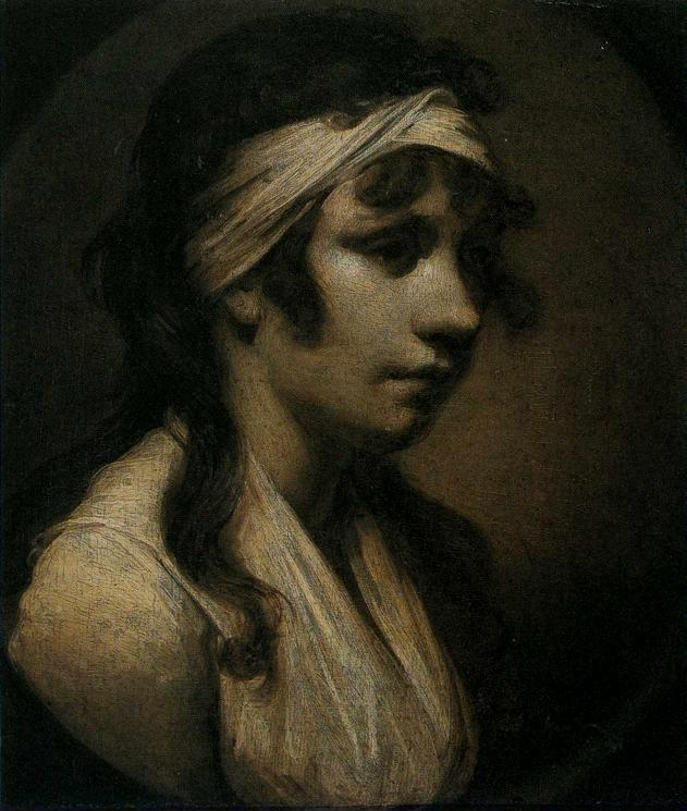 Joseph Wright of Derby. Harriet Wright, the Artist's Daughter.
